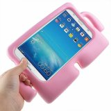 For Samsung Galaxy Tab 7.0 3 A Lite Kids E T110 - Pink Kids Light Weight Shockproof Case Stand