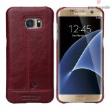 Pierre Cardin Genuine Leather Galaxy S7 Back case - Red