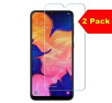 For Samsung Galaxy J8 - Twin Pack of 2 X Tempered Glass Screen Protectors