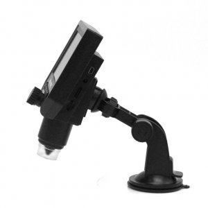 Portable 1-600X Zoom 3.6MP Microscope With 4.3 Inch LCD Display