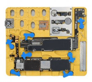 Mechanic MR9 Logicboard CPU NAND Fingerprint Repair PCB Holder For iPhone XR, 8, 8+ & A12/A11/A10/A9/A8/NAND/PCIE