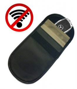Car Remote Unlocker >> Car Keyless Entry Fob Signal Blocker - Genuine Faraday Bag Block Theft