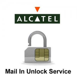 Alcatel Network Unlock Service (mail-in service)