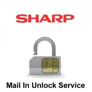 Sharp Network Unlock Service (mail-in service)