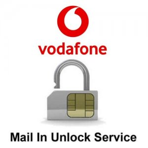 Vodafone Exclusive Network Unlock Service (mail-in service)