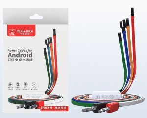 MEGA-IDEA DC Power Supply Cable for Android Phones