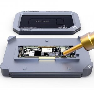 For iPhone 11, 11 Pro, 11 Pro Max - Qianli iReball iP-02 Middle Frame Reballing Platform