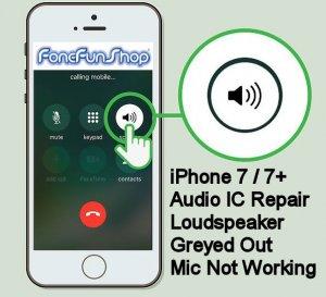 pretty nice c5837 19aba iPhone 7 Audio IC Repair Service