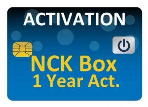 NCK Box 1 Year Activation