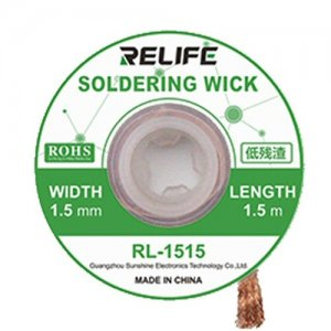 Relife Desoldering Wick RL-1515 (1.5m Long - 1.5mm Wide)
