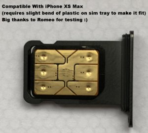 PACK OF 10 Instant iPhone Unlock SIM for iPhones Latest iOS 2020 V3